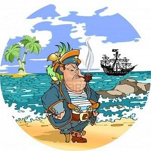 20120524201111-9232539-pirata-con-un-loro-en-el-hombro-contra-el-telon-de-fondo-del-mar-pirata-se-encuentra-en-la-orilla-ah.jpg